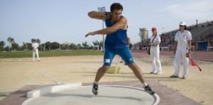 Iván Llorens lanzamiento rotatorio de Peso