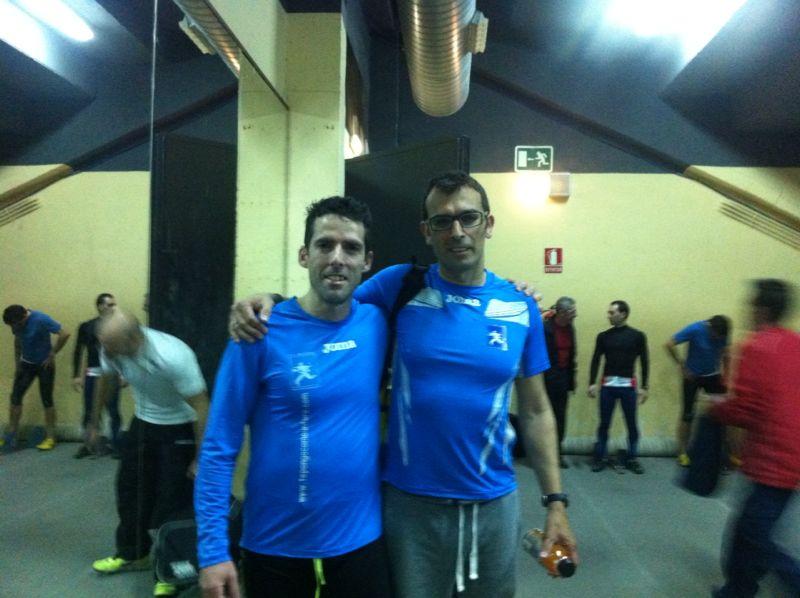 Fernando Crespo y David Sibaja